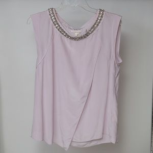 New Rebecca Taylor Silk Blouse with Jewels